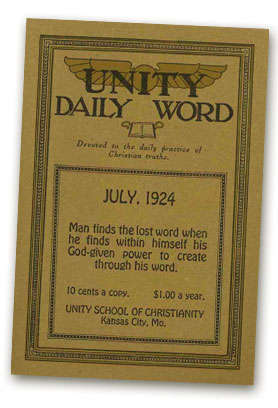 July 1924 Daily Word