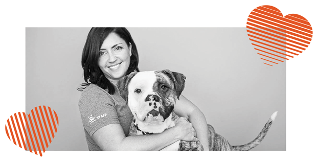 Photographer of My Old Dog: Rescue Pets with Remarkable Second Acts, Lori Fusaro with her Old Rescue Dog Sunny