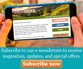 Daily Word E-Newsletter