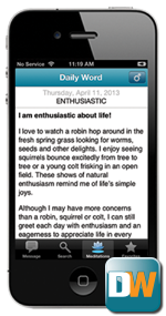 Welcome to Daily Word Digital